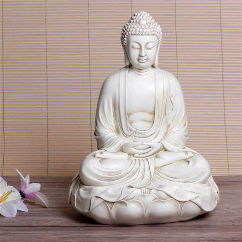 buddha 39 lotus meditation 39 29 cm. Black Bedroom Furniture Sets. Home Design Ideas