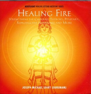 Levry, Joseph Michael: Healing Fire (CD) -A
